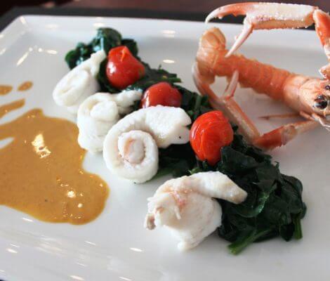 Recette dietetique filets de sole garnis, Thalassa Oleron