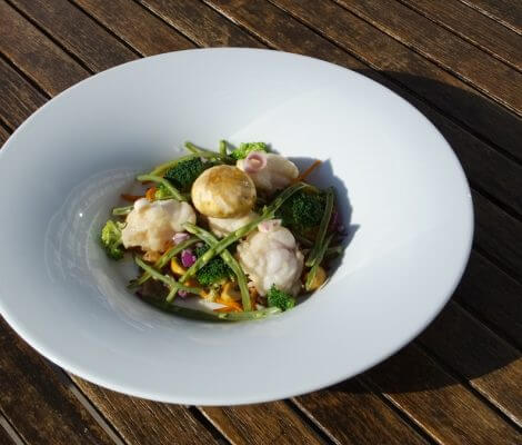 Recette cuisine dietetique lotte thalasso oleron